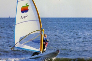 Apple Wind Serfinboard