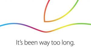 10月16日は、Appleの発表会