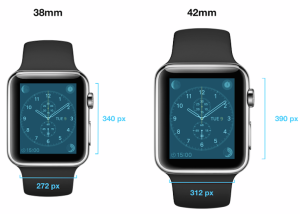 Apple Watch ディスプレイサイズ
