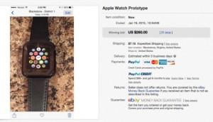 Apple Watchのプロトタイプ?