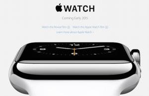 Apple Watch、2015年初頭に登場