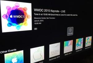 wwdc2015@Apple TV