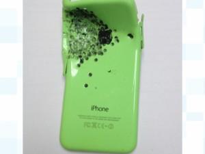 命を守ったiPhone5c