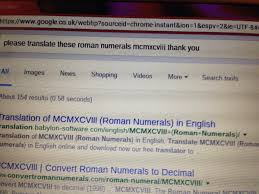 Please translate these roman numerals mcmxcviii thank you