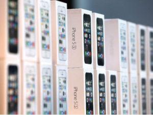 iPhoneがいっぱい
